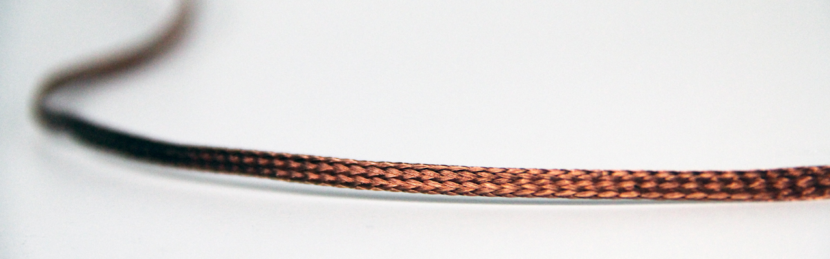 10 FEET 1//2 BRAIDED GROUND STRAP GROUNDING Tinned Copper Flat Braid MADE IN USA